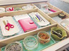 thrift store trays   IHeart Organizing