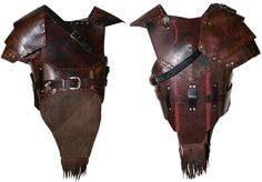 Orckish leather armor by ~Zapan99 on deviantART