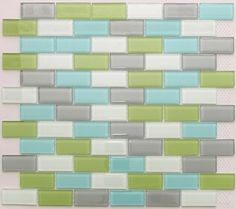 Silver Green Turquoise White Glass Mosaic Tile by Nerino, http://www.amazon.com/dp/B001TJ4RSM/ref=cm_sw_r_pi_dp_PqThrb0S45FXD