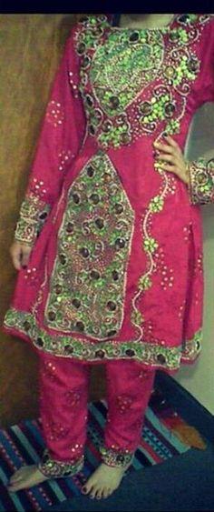 Malika's Wedding Baluchi dress