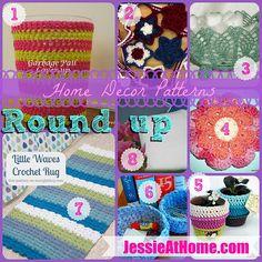 #Crochet Home Decor from JessieatHome.com