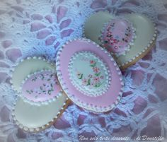 vintage wedding cookies
