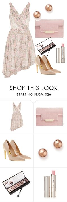 """""""Pastel Party Dress - pink"""" by shistyle ❤ liked on Polyvore featuring Elizabeth and James, AERIN, Rupert Sanderson, Bloomingdale's, Neiman Marcus, By Terry, pastel and partydress"""