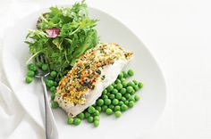 Serve this crunchy topped blue-eye fish with peas and green salad for a complete family meal.