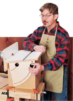 Horizontal Tilt-top Router Table Project - includes free diagram and material list as a downloadable PDF.