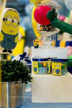 minion candy table   To order or any inquiry please contact us.