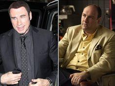 John Travolta, James Gandolfini, Hollywood