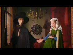 Van Eyck - The Arnolfini Marriage - Every picture tell's a storyIt is considered one of the most original and complex paintings in Western art because of the iconography, the unusual geometric orthogonal perspective, the use of the mirror to reflect the space, and that the portrait is considered unique by some art historians as the record of a marriage contract in the form of a painting