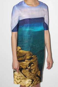 I would absolutely love this as a top. the dress is too shapeless