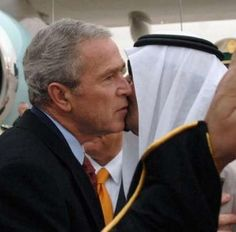 George Bush and King Abdullah. - I hope we get a new President as amazing as he.