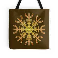 """Helm of Awe"" Tote Bags by Rte73DesignPrt 