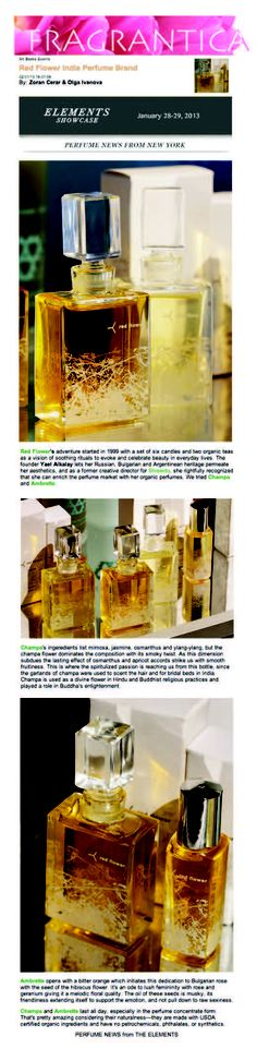 fragrantica, perfume news from new york