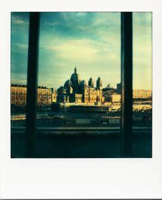 La Major vue du J1 / #Marseille #polaroid #GPMM #monuments #MP2013 #panorama / www.marseillepolaroid2013.com