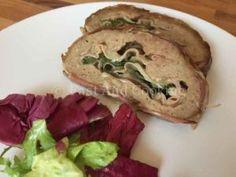 Ricetta del polpettone con spinaci in crosta di pancetta: facile e gustosa!