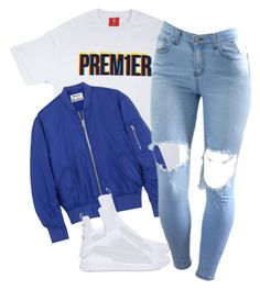 A fashion look from January 2017 featuring tee-shirt, flight jackets and slip-on shoes. Browse and shop related looks. Boujee Outfits, Dope Outfits, Polyvore Outfits, Classy Outfits, Pretty Outfits, Stylish Outfits, Fashion Outfits, Cute Outfits For School, Outfits For Teens