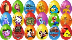 35 Kinder Surprise Disney Pixar Cars 2, Hello Kitty,Disney Princess,My L...35 Kinder Surprise Eggs as well as Kinder Surprise from different Movies Cartoon characters such as Disney Frozen Olaf the snowman, сюрпризы ТАЧКИ #kindertoy #kinsurunb Birds, Princess Anna, Angry Birds, Disney Pixar Cars 2, Hello Kitty, Choco Treasure, Disney Princess, My Little Pony, Masha and The Bear, Star Wars, Toy Story, Spongebob, Mickey Mouse,Smeshariki, lego, Giant Disney Princess Chocolate, Huevo Scooby-Doo