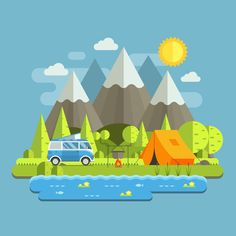 Camping Travel Landscape