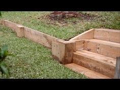 How To Build A Retaining Wall For Cheap [Garden Retaining Wall Ideas] - YouTube