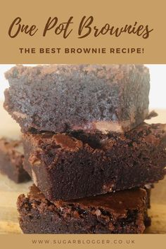 These brownies are indulgently delicious. With a cracky top and fudgy texture threw out. This is the only brownie recipe you will ever need. #brownies #brownie #bestbrownierecipe #thebestbrownies