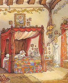 A favourite from childhood! Brambly Hedge by Jill Barklem.