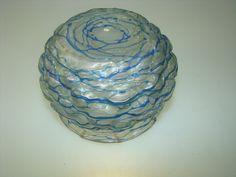 ANTIQUE ART NOUVEAU VASE SPIDERWEB BY LOETZ OR PALME-KONIG LOETZ TIFFANY ERA #1 | Pottery & Glass, Glass, Art Glass | eBay!