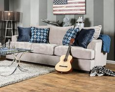 Cuddle up on the Furniture of America Marken Sofa , a neutral sofa that suits any space. Velvety beige upholstery fabric is soft to the touch and. Beige Sofa, Pink Sofa, Neutral Sofa, Sofa Upholstery, Upholstered Sofa, Sofa Italia, Deep Sofa, Sofa Material, Classic Sofa