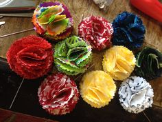 In Living Color Lapel Flowers