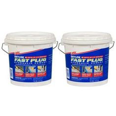 For patching leaks in masonry wall joints and settlement cracks, use this DRYLOK Fast Plug. Sealing Basement Walls, Fast Setting Concrete, Stucco Repair, Stucco Finishes, Outdoor Walkway, Masonry Wall, Cement Walls, Flat Interior