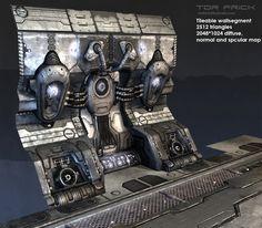 Snefer's random Sci-fi props - Page 2 - Polycount Forum