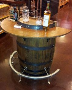 One Of Our Many Products Made From Old Wine Barrels.