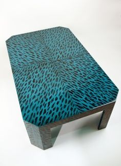 'Blue Tortoise' Coffee Table - COLEEN & CO.