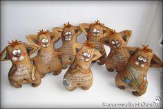 Купить Кофейные позитивчики: Собаки - коричневый, кофейный, позитивный подарок, добрый, работа, отпуск