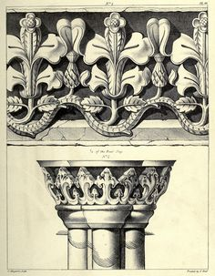 Plates From Collings Gothic Ornament 1847