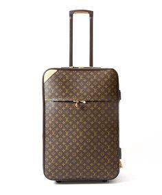 Buy safe online designer vintage louis vuitton luggage trolley ...
