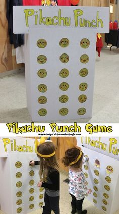 DIY Pokemon Party with lots of fun ideas!