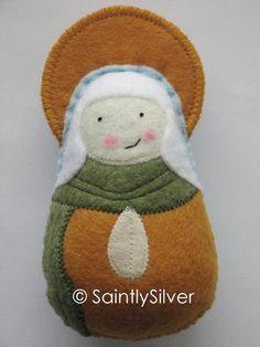 Saint Elizabeth Felt Saint Softie (Claire Elizabeth)