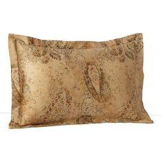 Lauren Ralph Lauren Verdonnet Paisley European Sham Pillowcase Camel * For more information, visit image link.