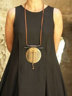 brass necklace -:- AMALTHEE -:- n° 3154