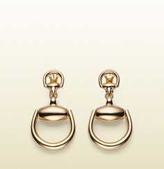 Horsebit Earrings