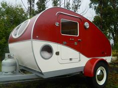 New vintage style teardrop camper, small caravan. | eBay
