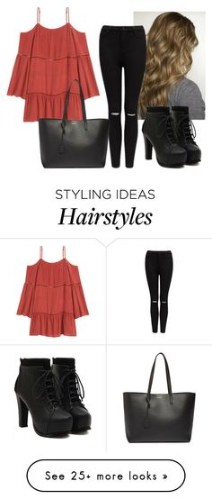 """Let's date"" by hannahmcpherson12 on Polyvore featuring Forever New and Yves Saint Laurent"