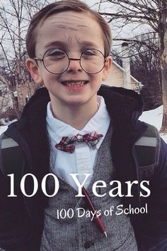 100 Days of School: Is your school celebrating the 100 Days? If so, and you need to transform the kidlets, check out our tips on How To Dress Like a 100 Year Old Man for your boys and our tips on how to draw wrinkles. 100 Day Of School Project, 100 Days Of School, School Fun, School Ideas, School Projects, School Stuff, School Daze, Old Man Makeup, Kids Makeup