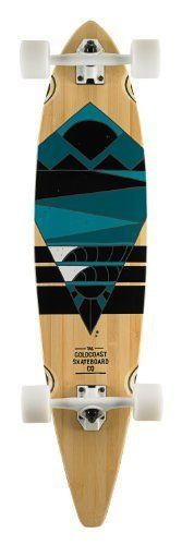 "Goldcoast The Neptune Longboard Complete, Multi, 40 x 9.5-Inch by Goldcoast. $173.84. 26.5-Inch Wheelbase and Century 179mm Reverse Pivot Trucks containing 93a bushings and 0.5-Inch Flat Risers. 5 Ply Bamboo and Maple Hybrid. Pintail Shape. Clear and Die Cut Grip Tape. Sea, Clearly.  The ocean is a great place to get recharged, both physically and mentally. The Neptune is a tribute to that revitalization experience. The Neptune is a 40"" bamboo pintail deck, with ""W"" con..."