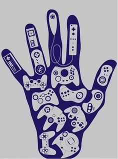 tengo videojuegos en mis manos