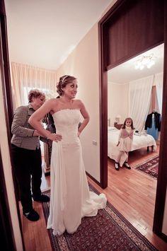 A True Italian Winter Wedding on lilac nuances