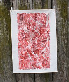 Lucindale Printed Tea Towel Meander Designs