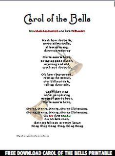 Jingle Bells - Lyrics (Short Version)   CHRISTMAS   Pinterest   Christmas, Jingle bells and ...
