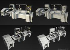 Assets for sci-fi game, Mats Jørgensen on ArtStation at…