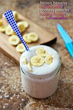 Banana Coconut Smoothie | FamilyFreshCooking.com