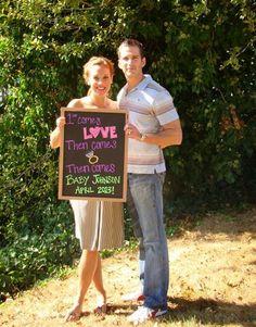 23 adorable photo pregnancy announcements   #BabyCenterBlog